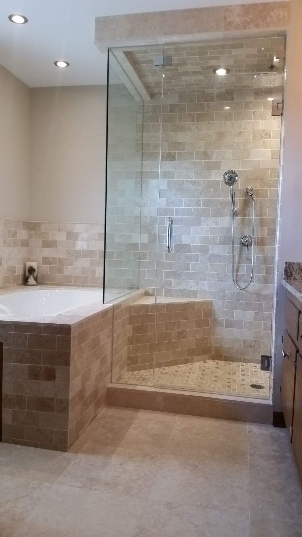 Pin By Tiling By Santana On Tiling By Santana Bathroom Makeover Kitchens Bathrooms Heated Floors