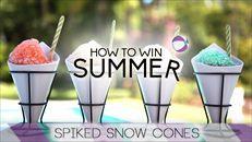 Grown-Up Snow Cone Bar