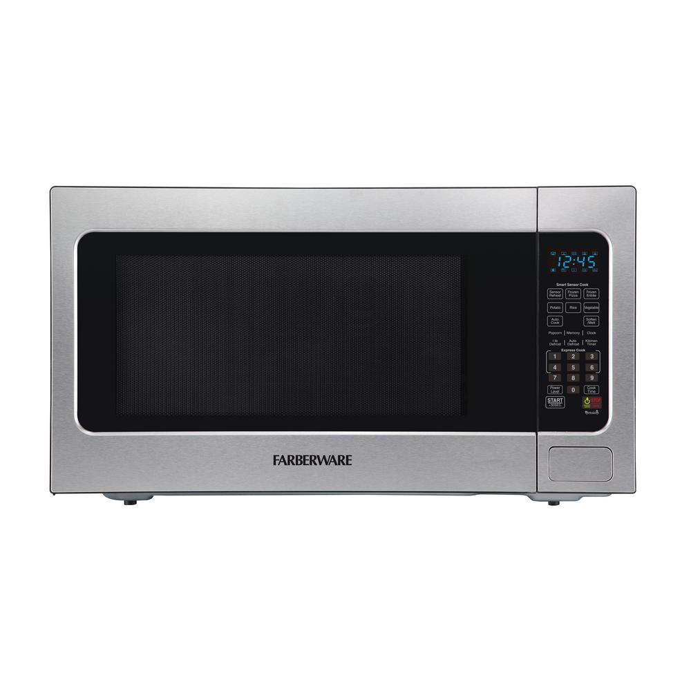 Farberware Professional 2 2 Cu Ft 1200 Watt Countertop Microwave