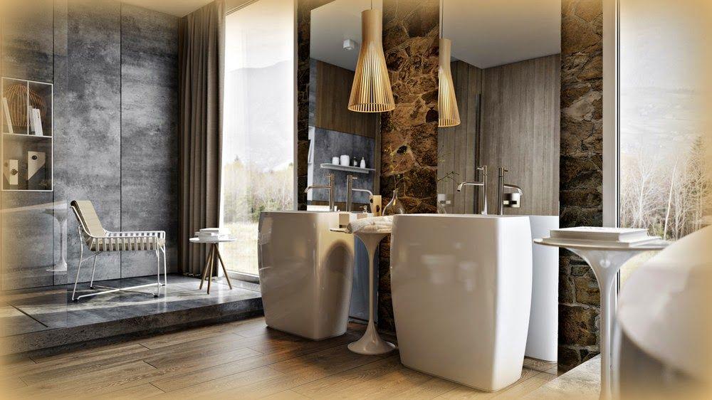 Boiserie Bagno Moderno : Boiserie c bagno moderno sofisticato retrò catalogue
