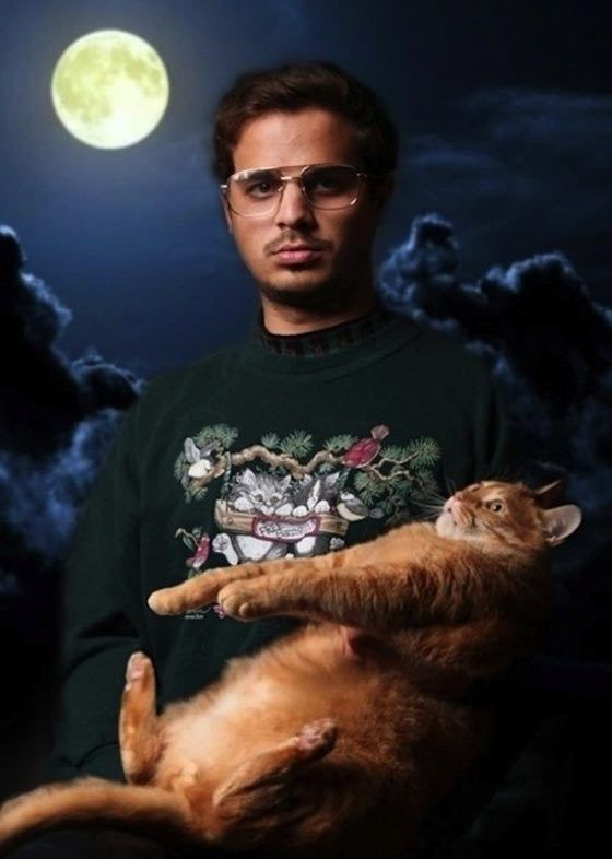 Unusual Pictures Of People Posing With Funny Animals Awkward - 49 hilarious pictures people animals