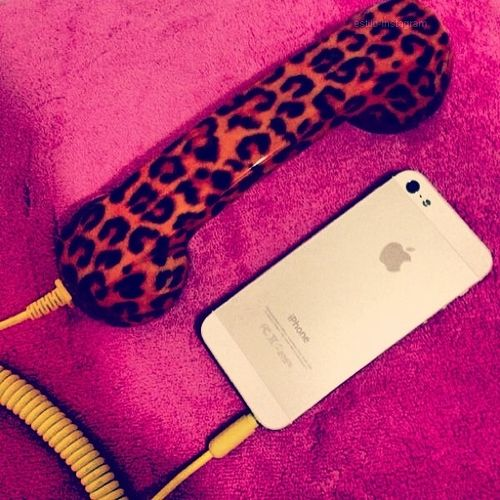 animal print looks good on anything and goes with everything