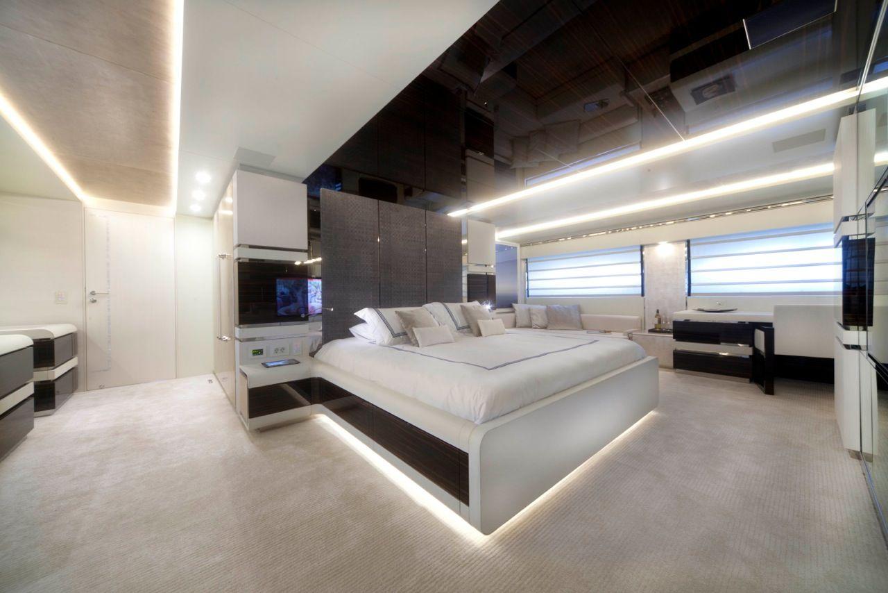 Luxury superyacht keyla interior by hot lab luxury yacht charter - Keyla Superyacht Interior By Hot Lab