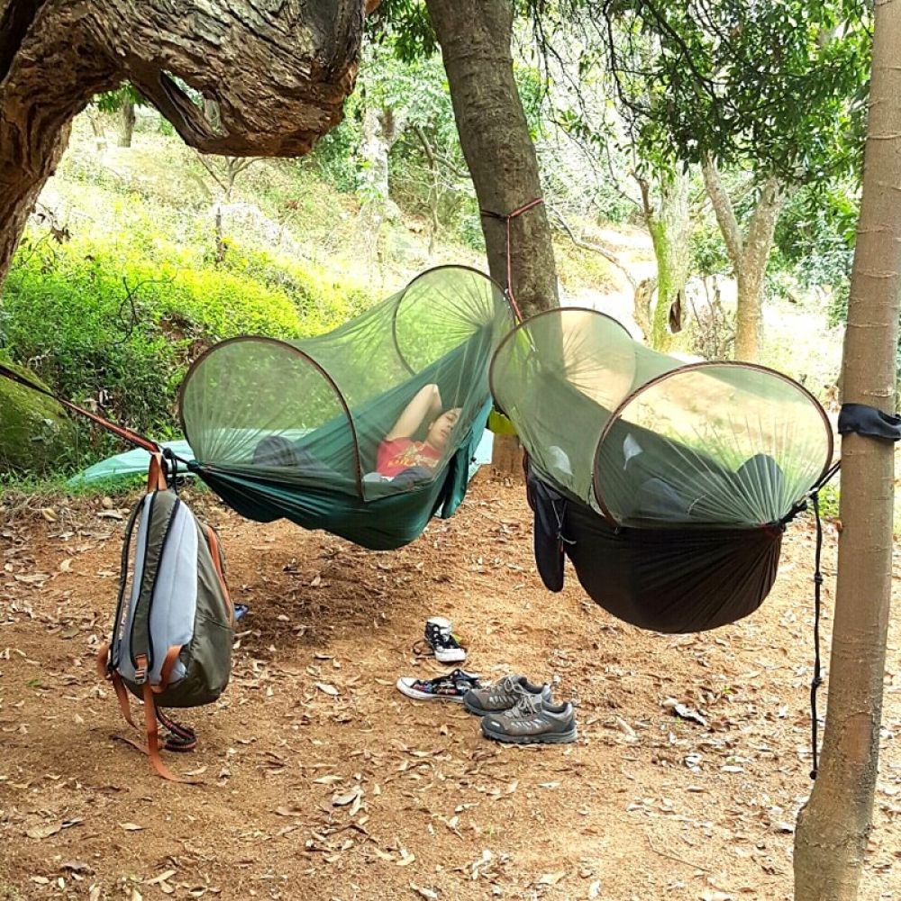 Mosquito Net Hammock Dengan Gambar