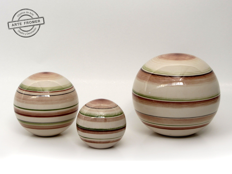 esferas de ceramica decoracion - Buscar con Google | cerámica ...
