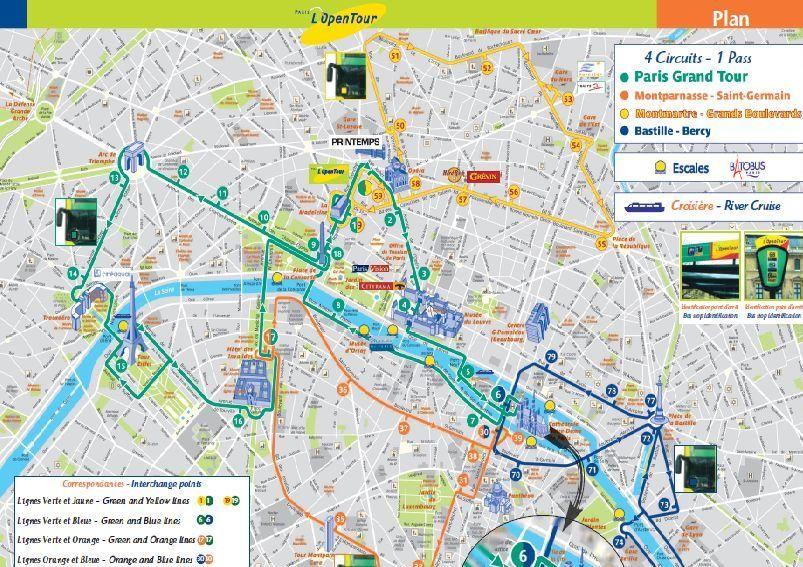Viator   Paris L'Open Hop On Hop Off Tour, in Paris, France