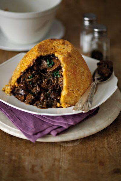 Mushroom and Stilton pudding | Food recipes, Stuffed ...