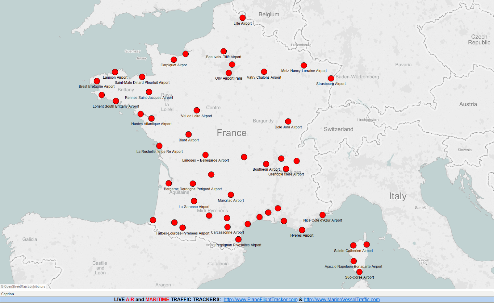 Airports In France Map FRANCE AIRPORTS MAP   Airport map, France map, Map