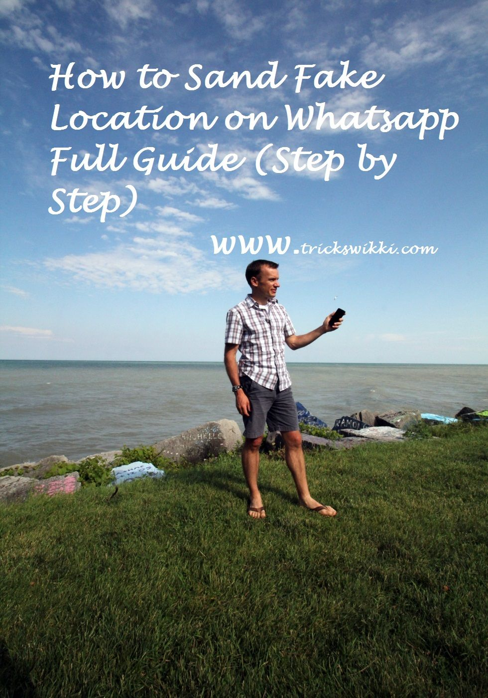 How to sand fake location on whatsapp to friends  Full guide