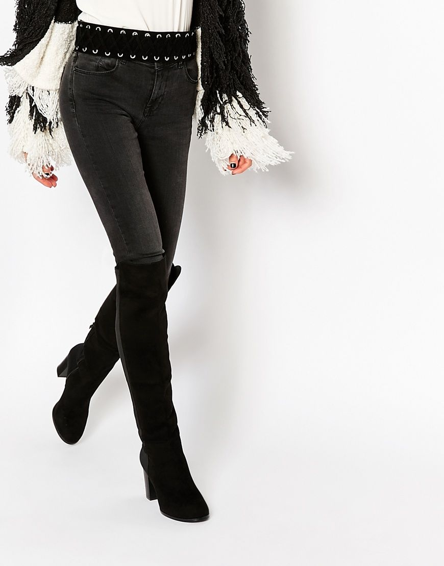 9903180eb09 Truffle Collection Seren Over the Knee Boots | Shoes | Over knee ...