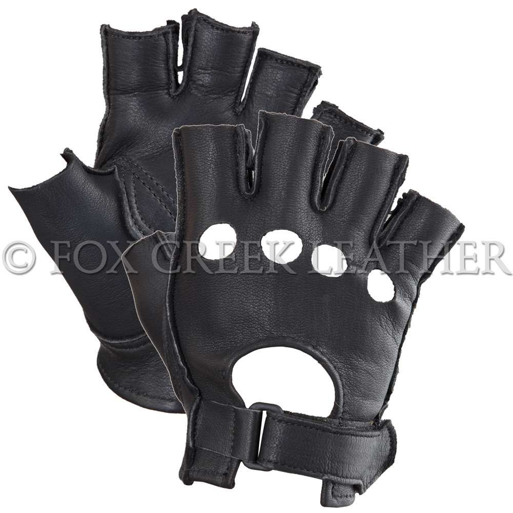 Motorcycle gloves distributor - Fingerless Maverick Gloves Women Motorcycle Gloves