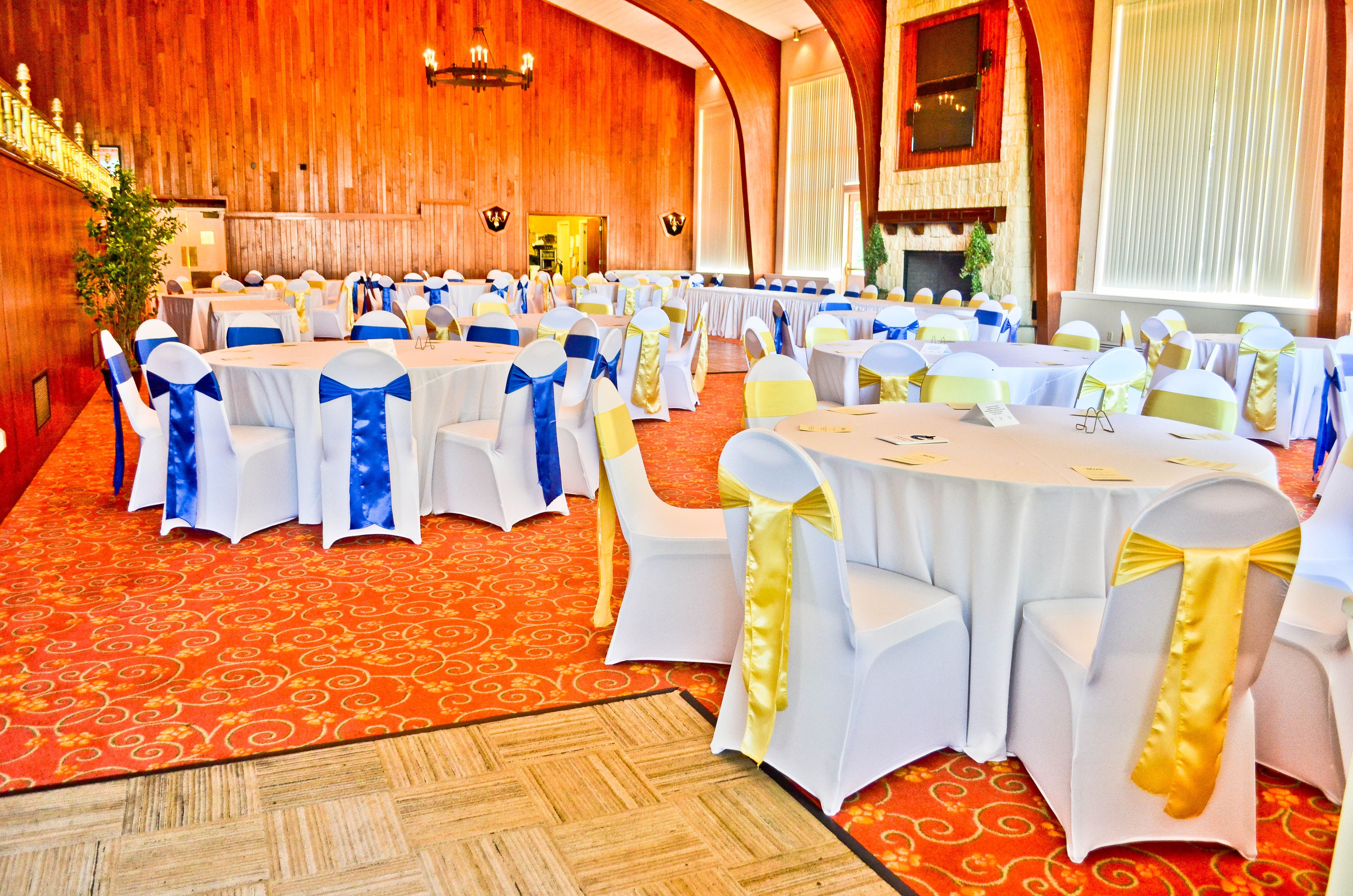Yellow Chair Covers White Spandex Chair Covers Royal Blue Yellow Satin Chair Sashes