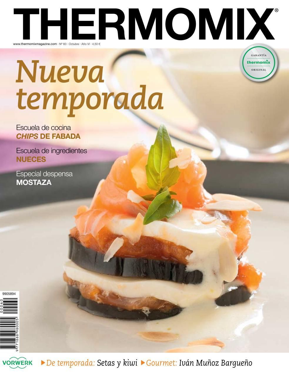 Thema060 Revistas Oficiales Thermomix Pinterest