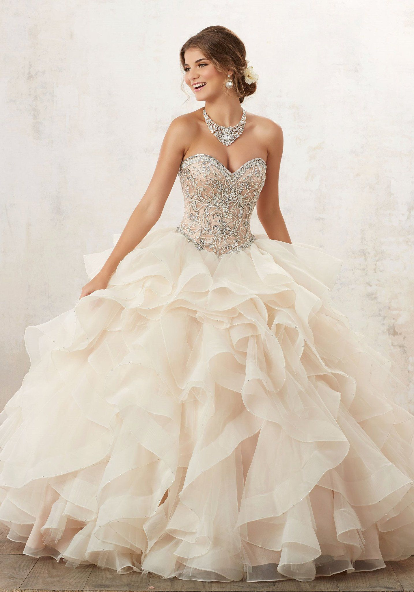 Strapless Ruffled Quinceanera Dress By Mori Lee Vizcaya 89126 Quinceanera Dresses Mori Lee Quinceanera Dresses Sweet 16 Dresses [ 2048 x 1434 Pixel ]
