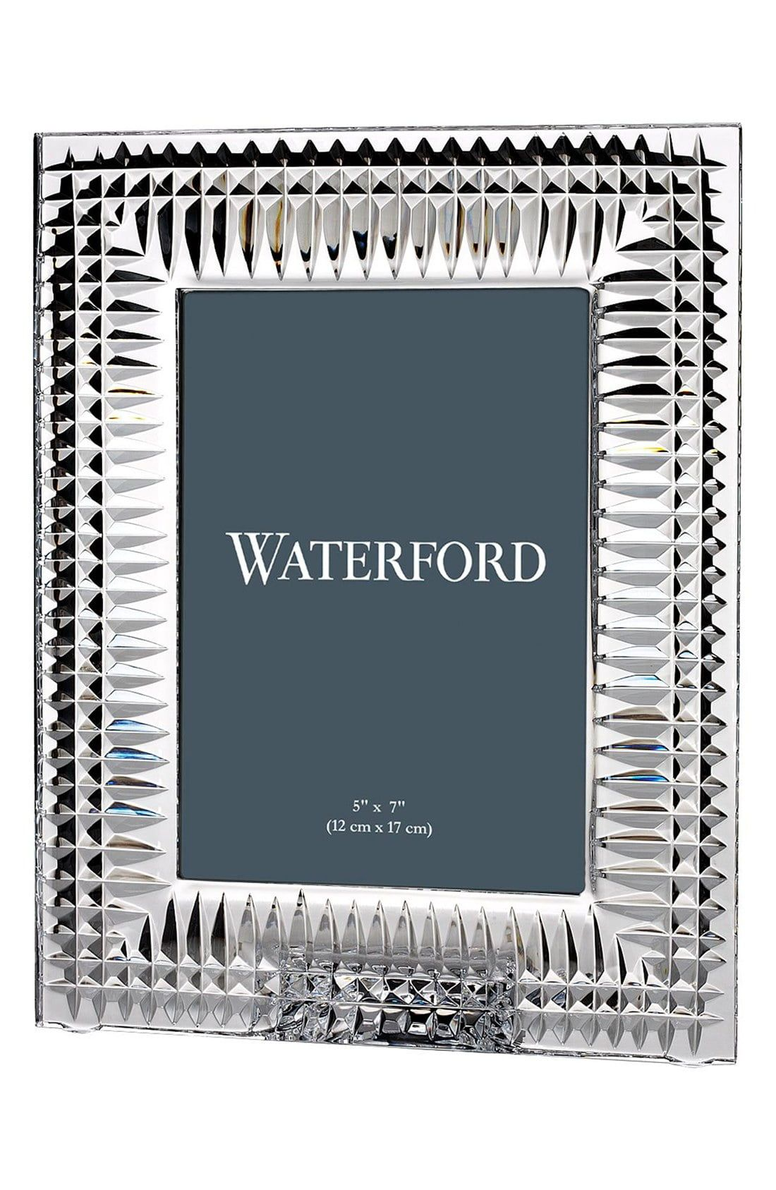 Waterford Lismore Diamond Lead Crystal Picture Frame Size One Size White In 2019 Diamond Picture Waterford Lismore Waterford Crystal