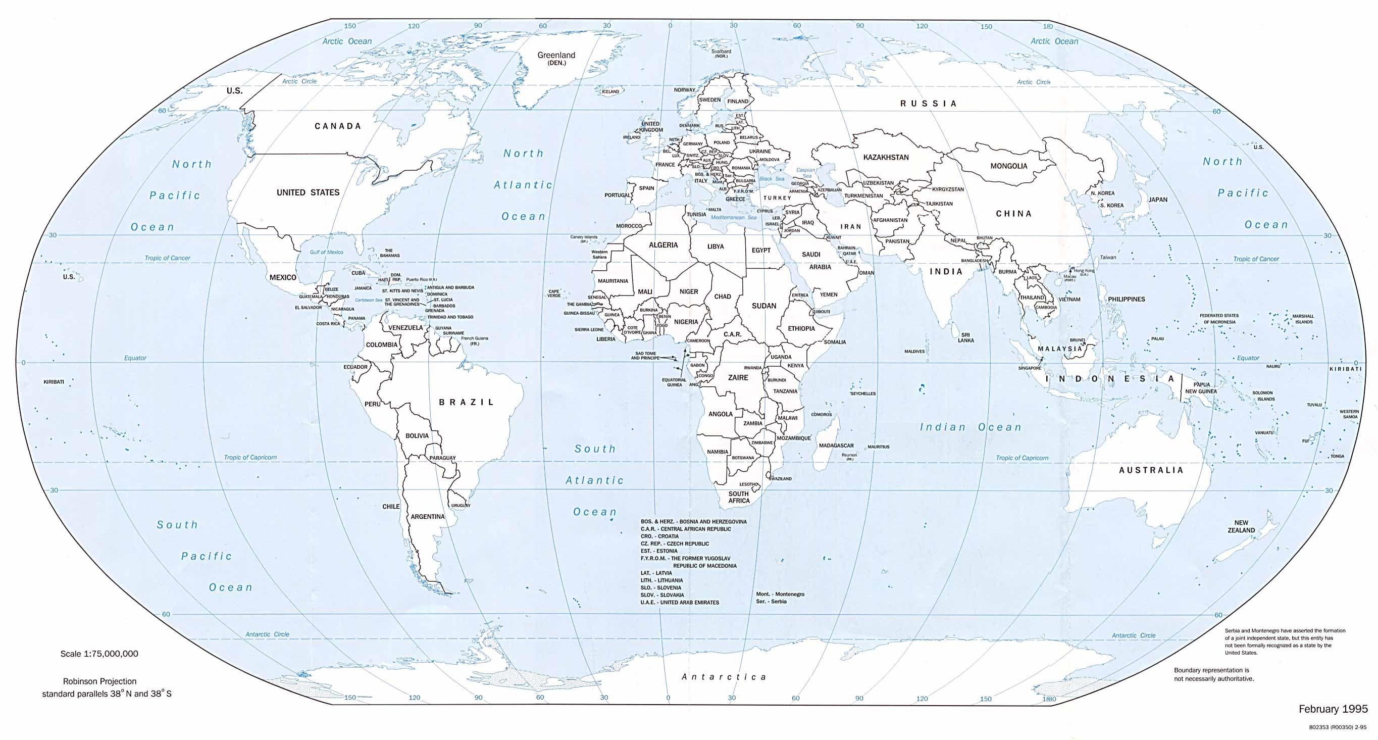 Labeled Map If Us Globalinterco - 95 of us map highlighted