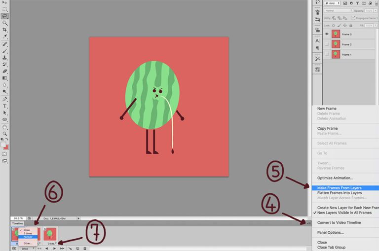 How To Create Animated Gifs With Photoshop Do It Your Gaht Damn