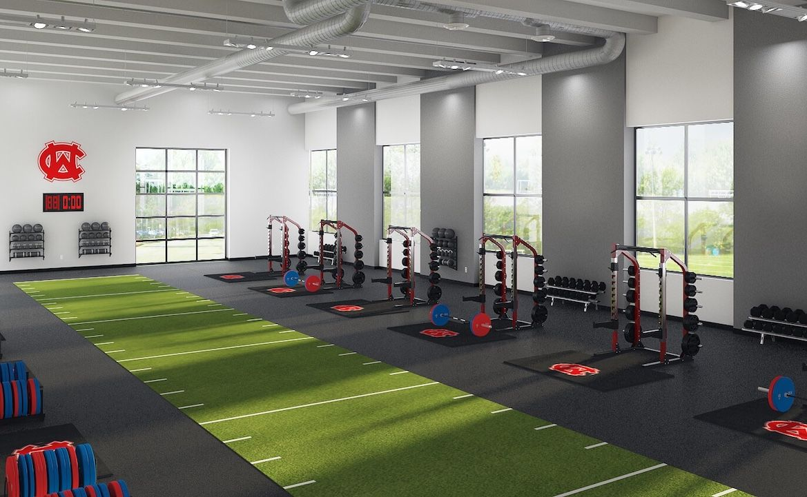 Weight Room Design Layout A Modern High School Athletic Weight Room Gym Design Interior Gym Setup Gym Design