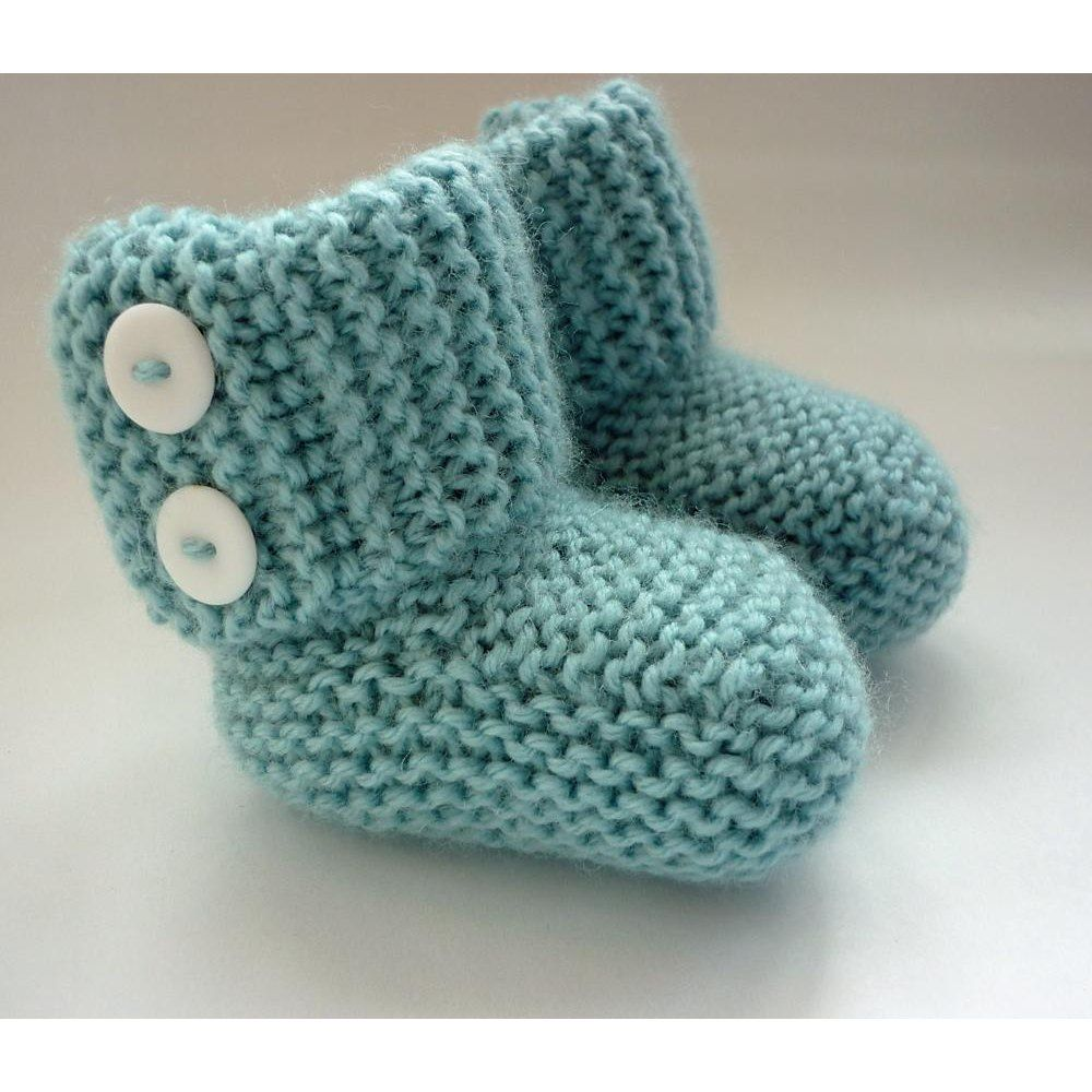 Marlow Baby Boots | Easy knitting, Circular needles and Baby booties