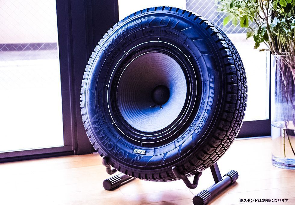 When design meets environmentally friendly intend upcycling happens. In this case an old tire was refurbished after being used and turned into a speaker for listening to music. The Seal tire from Y…