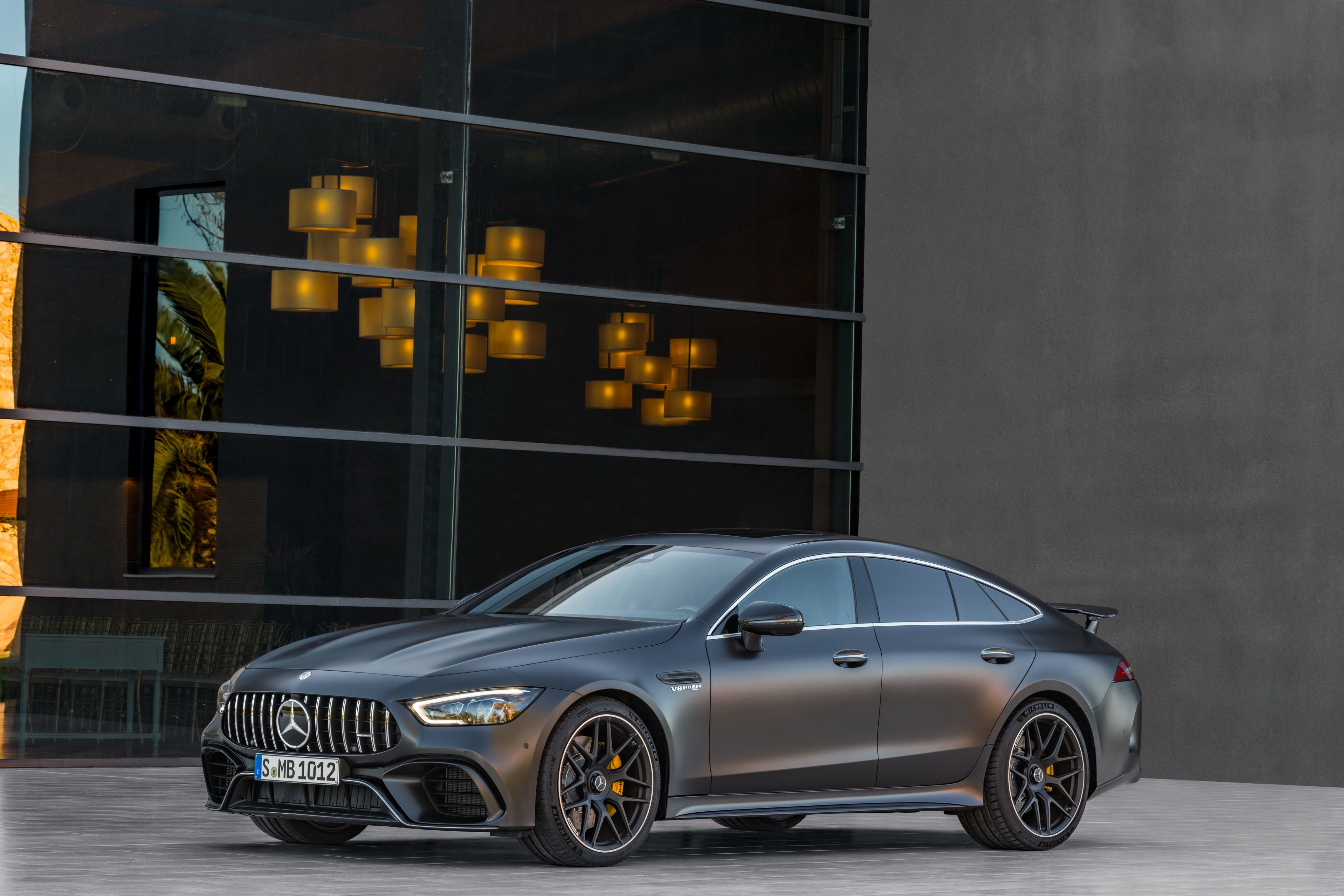 2018 Amg Gt 63 S 4matic 4 Door Coupe Mercedes Benz Amg