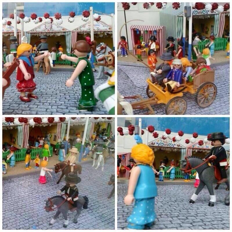 Feria de Abril de Sevilla con playmobil