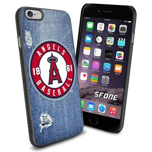 Los Angeles Angels MLB Jeans Logo WADE6017 Baseball iPhone 6 4.7 inch Case Protection Black Rubber Cover Protector WADE CASE http://www.amazon.com/dp/B013YXBJVS/ref=cm_sw_r_pi_dp_q72nwb1QP70TE