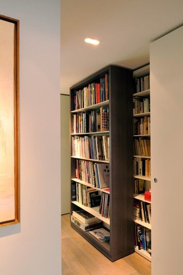 bibliotheques coulissantes d coration porte. Black Bedroom Furniture Sets. Home Design Ideas