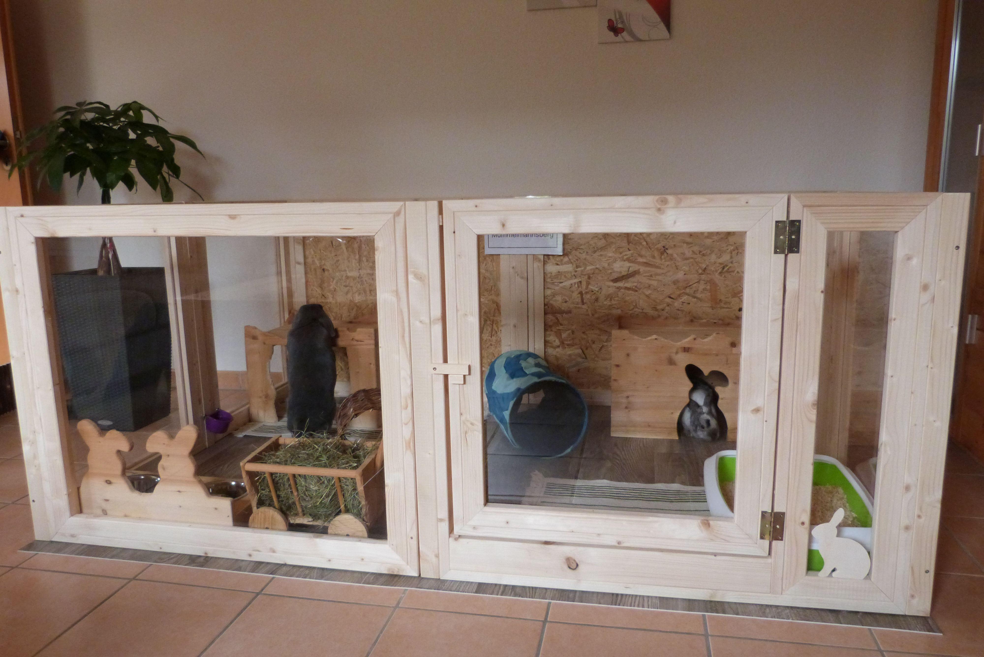 Hasengehege Innen Acrylglas Kaninchengehege Kaninchengehege