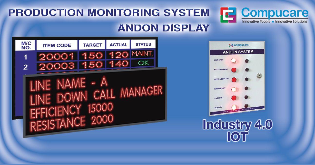 Production Monitoring Display Led Display Board Display Board