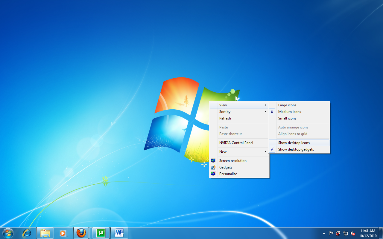 To Change Your Desktop Background Windows 7 Covers It With Pretty Pictures Known As A Background Most People Refer To The Background As Wallpaper