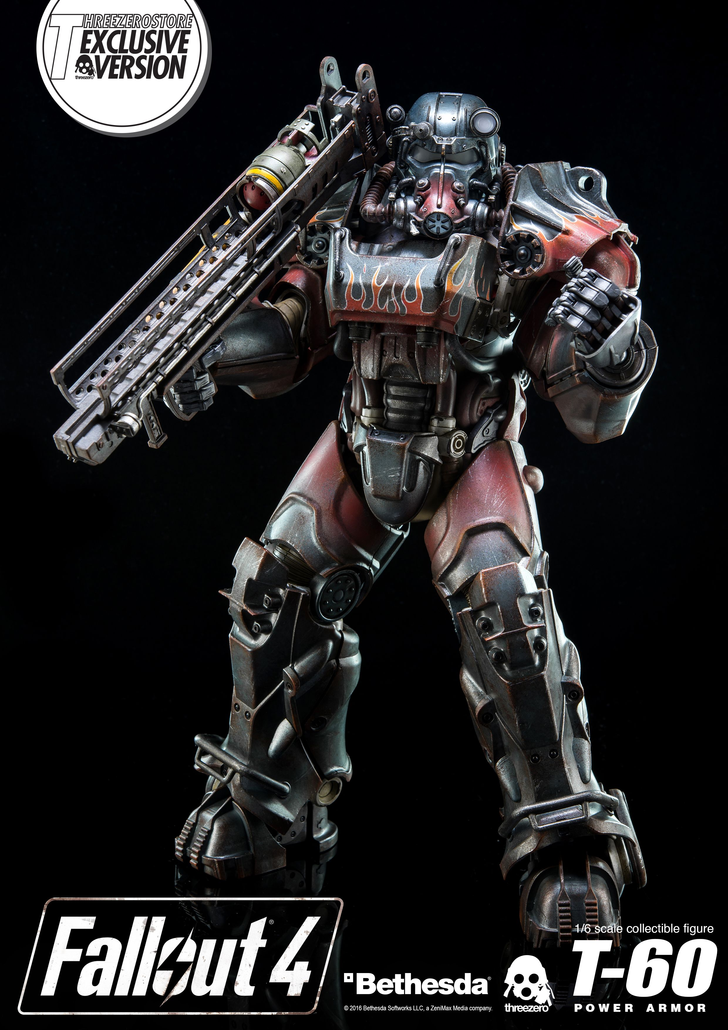 1/6th scale Fallout 4 T-60 Power Armor