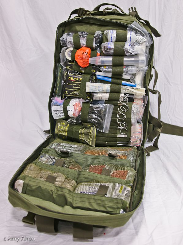 Survival Medical Kit Active Shooter First Aid Trauma Doom And Bloom