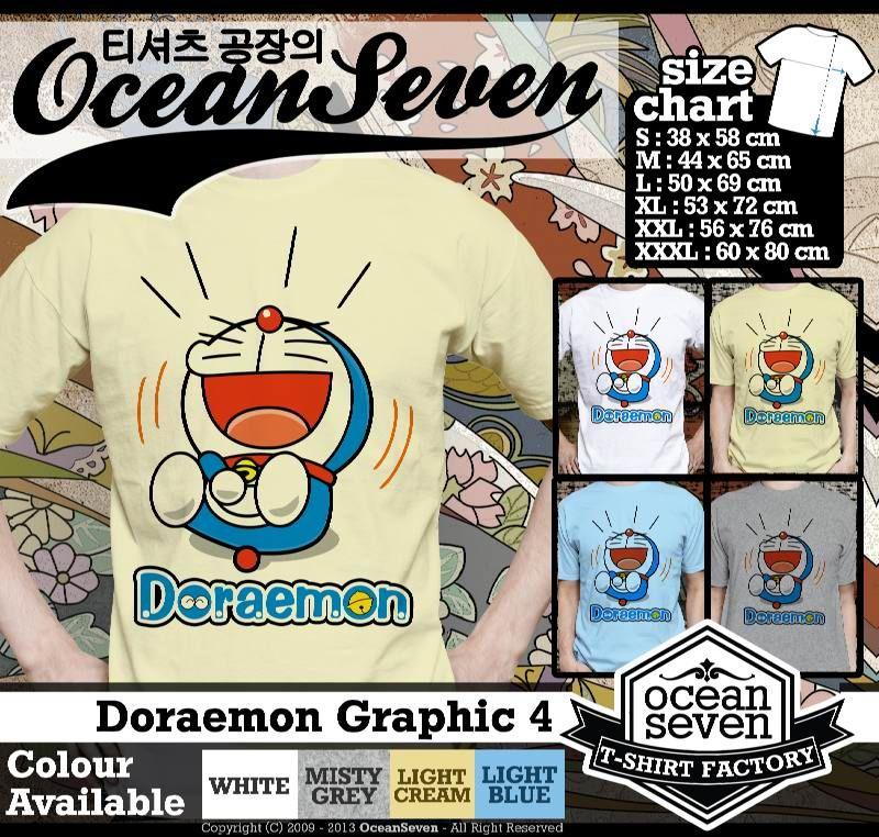Kaos Doraemon New Collection 1