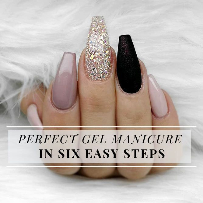Flawless Gel Nails At Home Created On Your Own | Gel nails ...