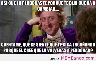 Dime Que Se Siente – Willy Wonka | Memes Para Facebook en ... Willy Wonka Meme Generator