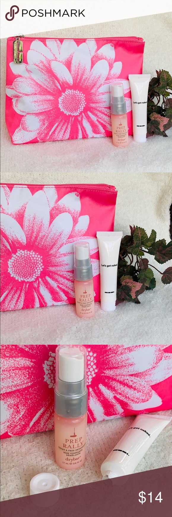 Clinique Bag W/Haircare Samples Deluxe sizes 🆕 Clinique