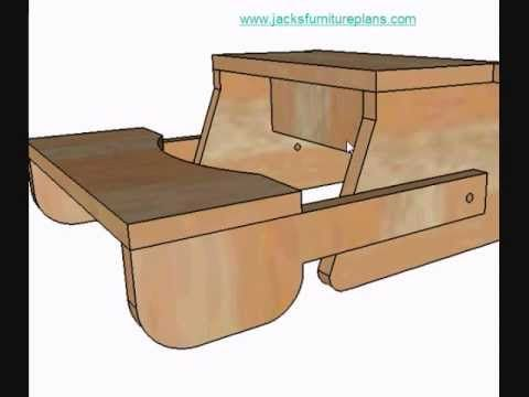 DIY Instructions for Kids Bench Step Stool.wmv - YouTube ...