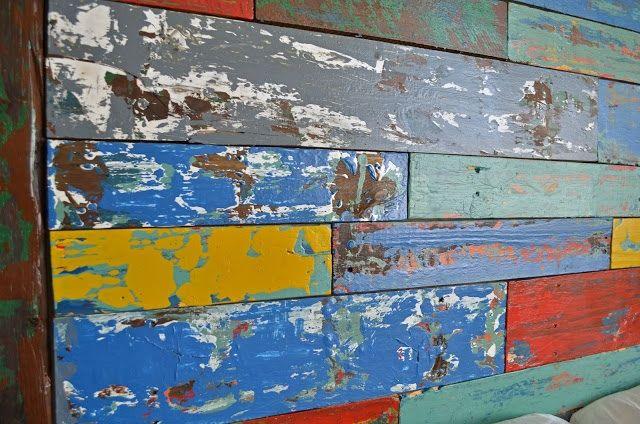 Boat wood