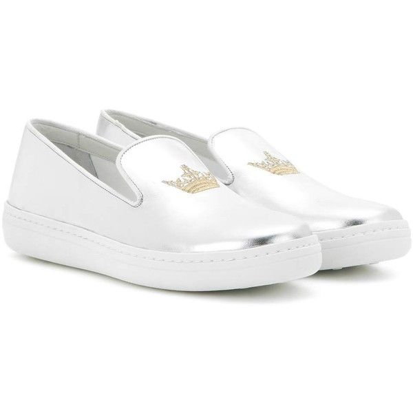 Philus embroidered leather slip-on sneakers Churchs vKBuaO