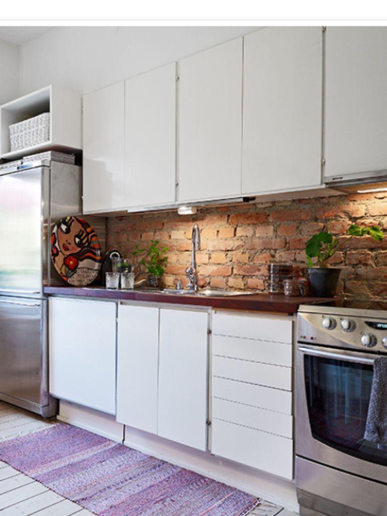 Ladrillo#cocina | Cocina | Pinterest | Ladrillo y Cocinas
