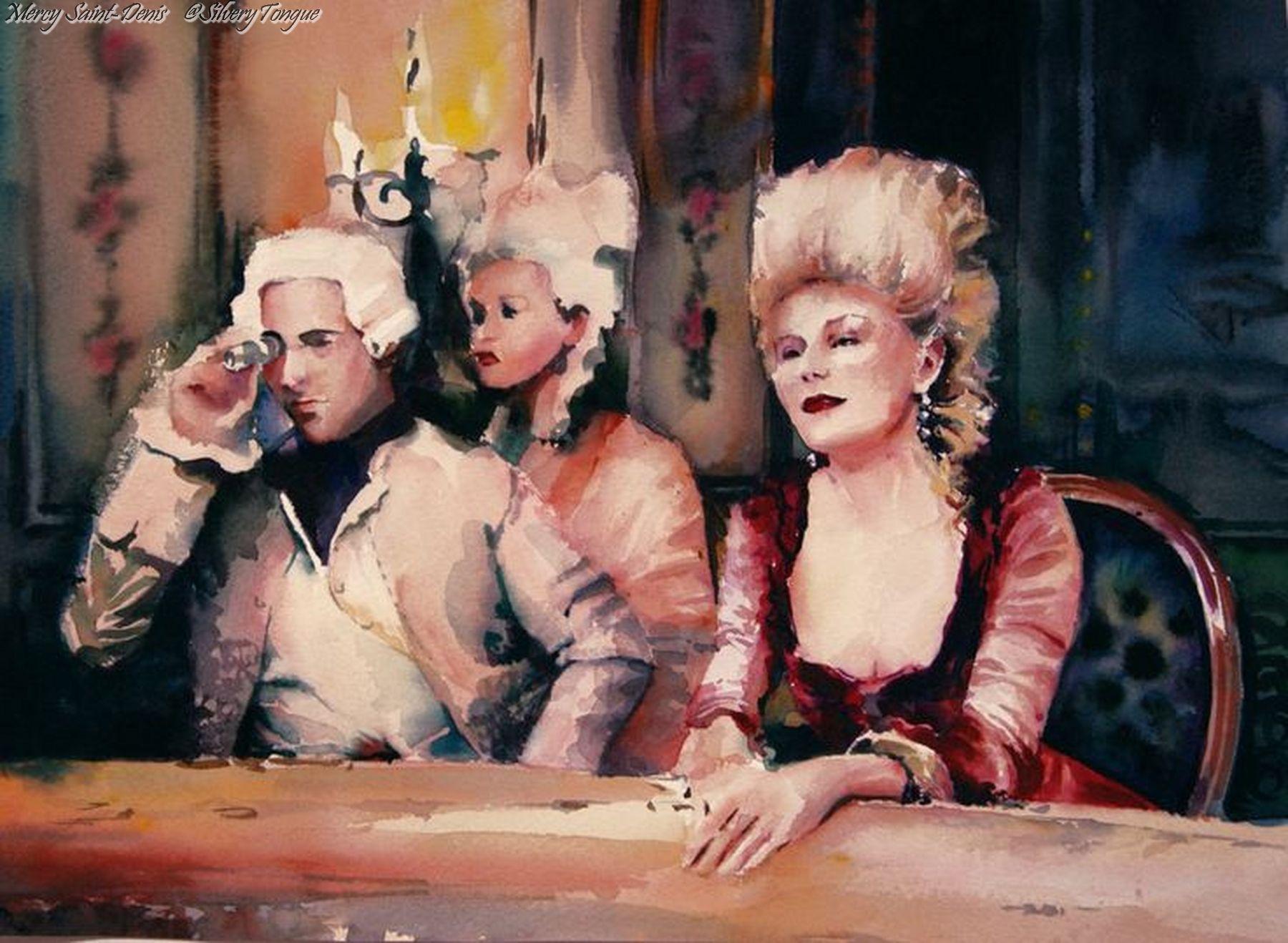Marie Antoinette, Sofia Coppola Film 2006. Devianart by Evgeniya-Marki.