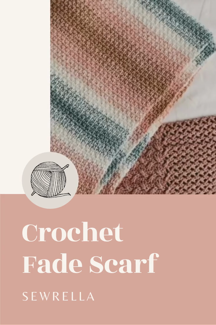 Photo of Crochet Fade Scarf – free pattern