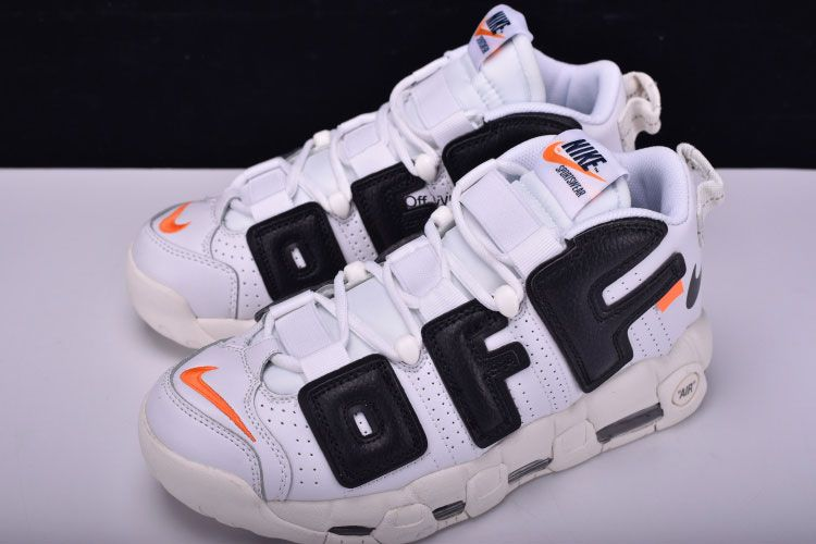 78a6653bcb62 Off White x Nike Air More Uptempo to Air More Uptempo shoes popular mode