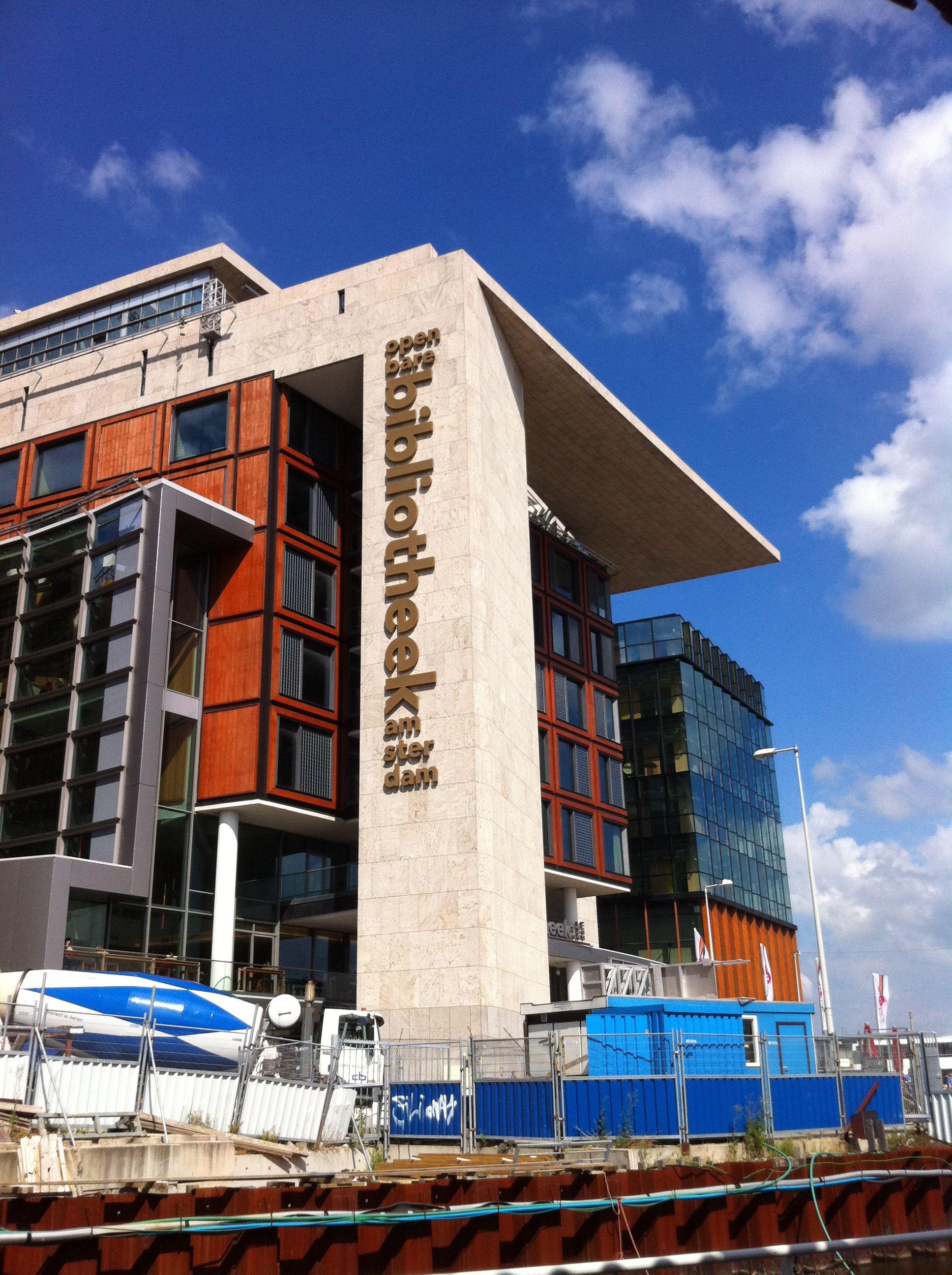 Openbare bibliotheek amsterdam netherlands offers a for Bibliotheek amsterdam