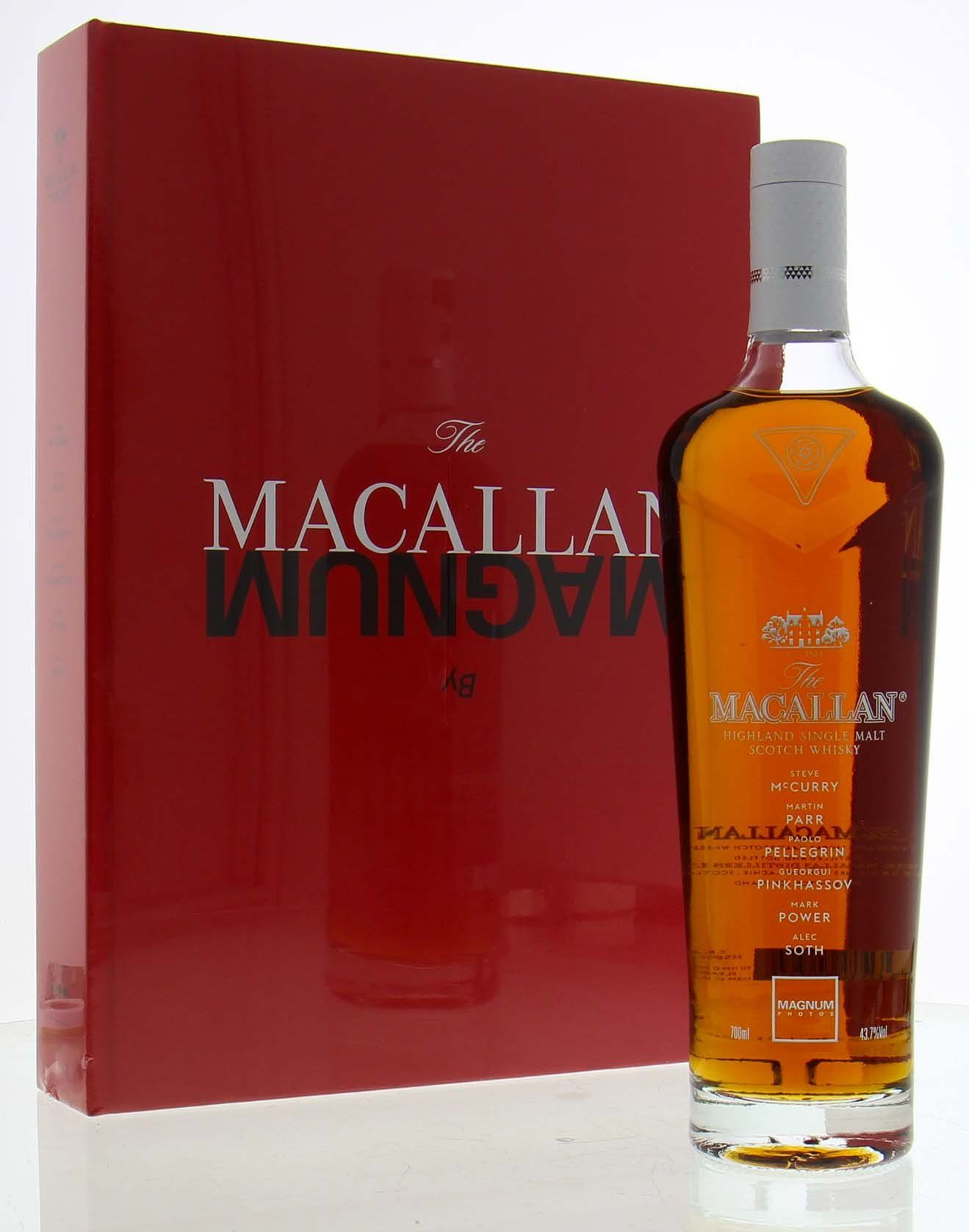 Macallan Masters Of Photography Magnum Edition Macallan Whisky Wine Cask Distillery