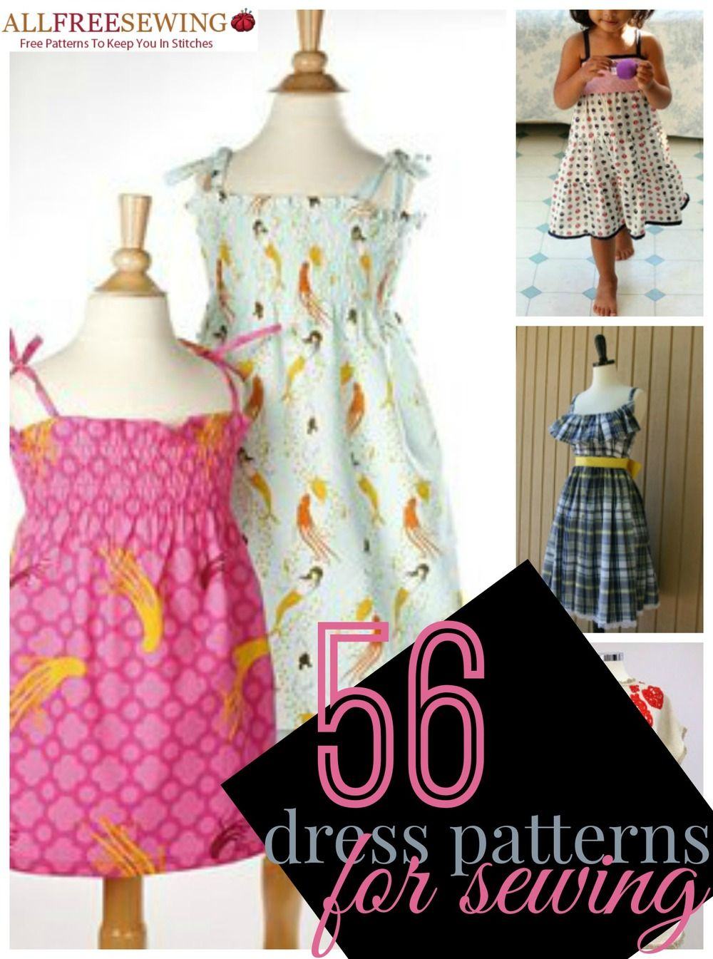 75 free dress patterns for sewing dress patterns patterns and 56 dress patterns for sewing 11 new free dress patterns allfreesewing jeuxipadfo Choice Image