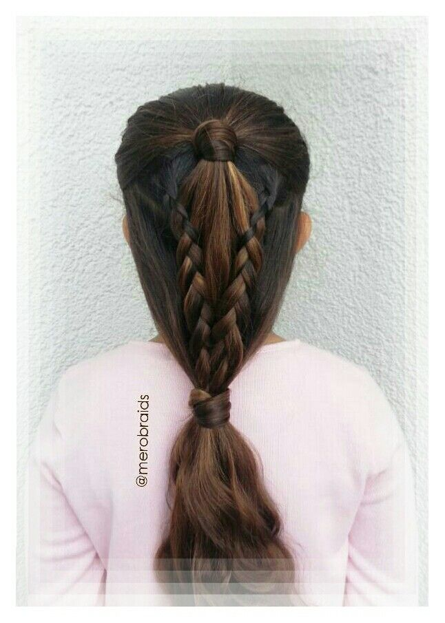 Lacebraids and ponytail