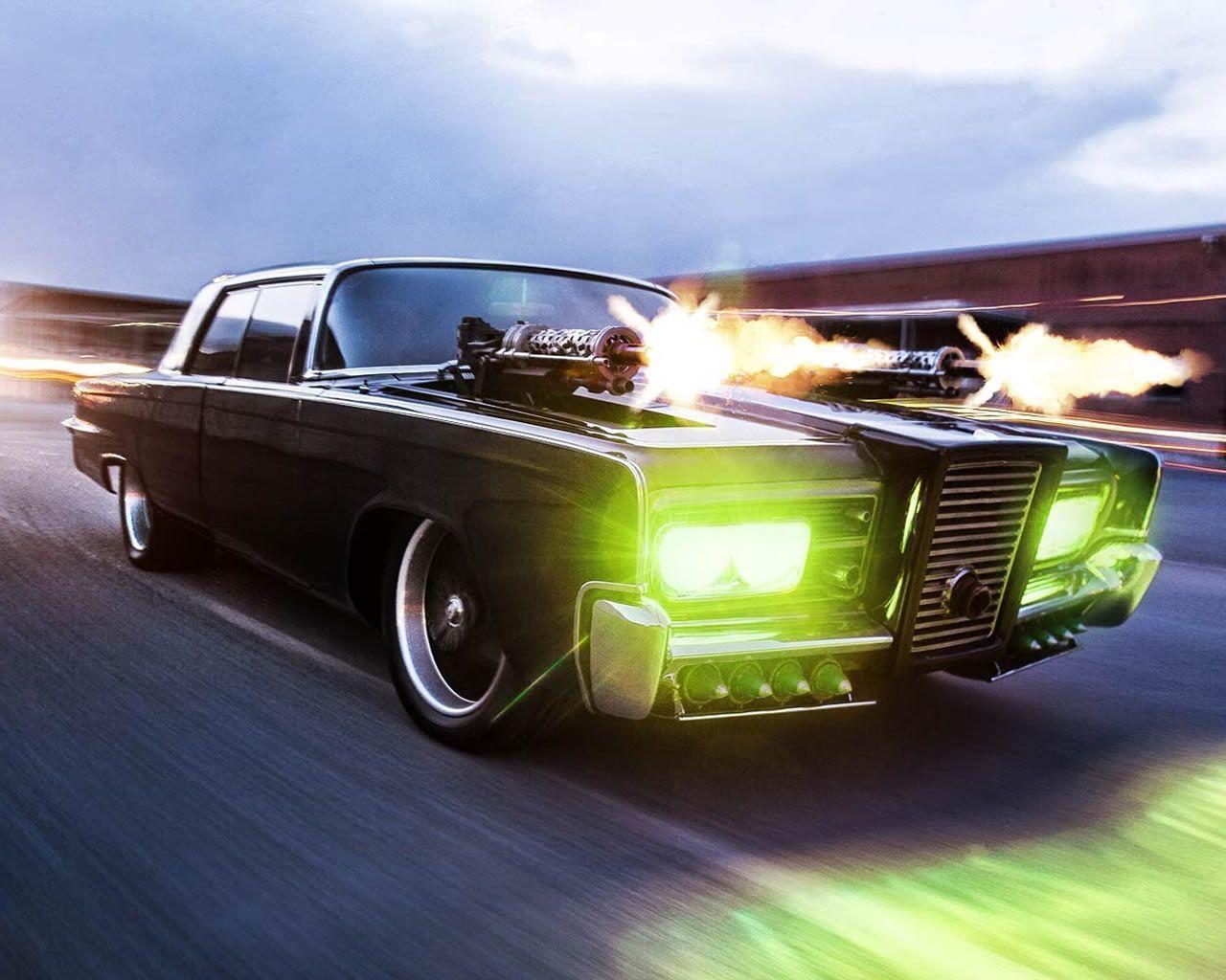 Chrysler Imperial Crown The Black Beauty The Green Hornet