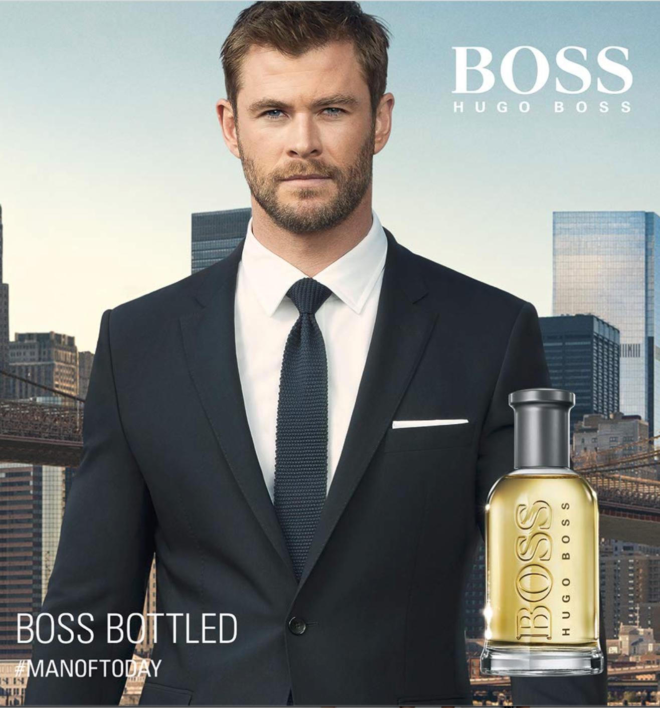 Poster Of Chris For Boss Bottled Tonic Manoftoday Chris